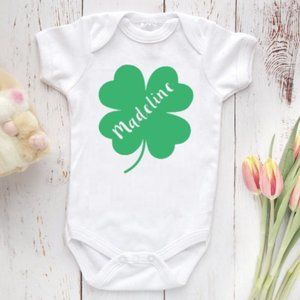 Personalized St. Patrick's Day Onesie